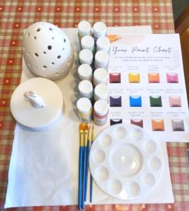 Pottery Painting Kit